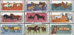 Umm Al Kaiwain 314A-322A (kompl.Ausg.) Postfrisch 1969 Pferderassen - Umm Al-Qaiwain