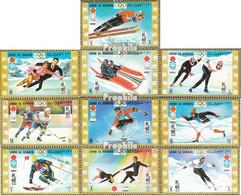 Umm Al Kaiwain 454A-463A (kompl.Ausg.) Postfrisch 1971 Olymp. Winterspiele '72, Sapporo - Umm Al-Qaiwain