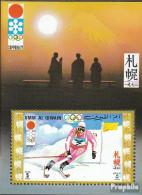 Umm Al Kaiwain Block30 (kompl.Ausg.) Postfrisch 1971 Olymp. Winterspiele '72, Sapporo - Umm Al-Qaiwain