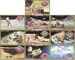 Umm Al Kaiwain 563A-572A (kompl.Ausg.) Postfrisch 1972 Apollo 15 - Umm Al-Qaiwain