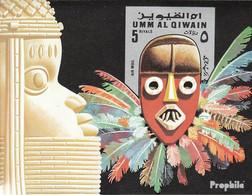 Umm Al Kaiwain Block54 (kompl.Ausg.) Postfrisch 1972 Masken II - Umm Al-Qaiwain