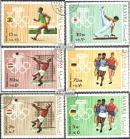 Manama 346A-351A (kompl.Ausg.) Gestempelt 1970 Olympische Sommerspiele - Manama