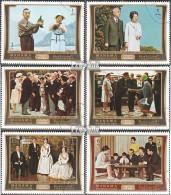 Manama 570A-575A (kompl.Ausg.) Gestempelt 1971 Japanisches Kaiserpaar In Europa - Manama