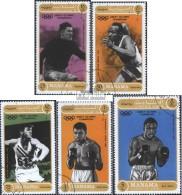 Manama 640A-644A (kompl.Ausg.) Gestempelt 1971 Bekannte Olympiasieger - Manama