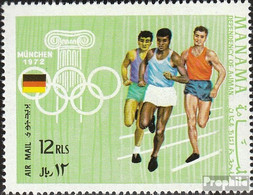 Manama 352 (kompl.Ausg.) Postfrisch 1969 Austragungsorte Olymp. Spiele - Manama