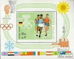 Manama Block88A (kompl.Ausg.) Postfrisch 1969 Austragungsorte Olymp. Spiele - Manama