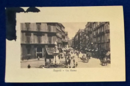 Cartolina Postale - Napoli - Via Roma - Napoli
