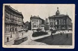 Cartolina Postale - Milano - Piazza Cordusio - Milano