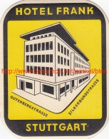 Hotel Frank Stuttgart - Hotel Labels