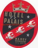 Hotel Du Palais Nancy - Hotel Labels