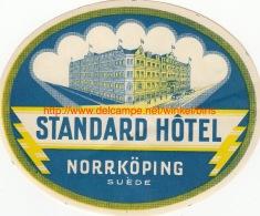 Standard Hotel Norrköping Suède - Etiquettes D'hotels