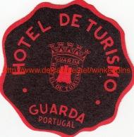 Hotel De Turismo Guarda Portugal - Etiquettes D'hotels