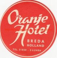 Oranje Hotel Breda Holland - Etiquettes D'hotels