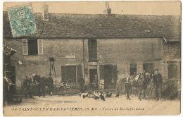 34 St Sulpice De Favieres Ferme De Rochefontaine  Attelages Defense De Fumer - Saint Sulpice De Favieres