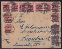 DR Brief Mif Gel. Von Magdeburg Nach Dresden Am 17.10.23 Ansehen !!!!!!!!!!!!! - Briefe U. Dokumente