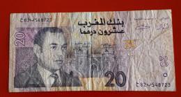 BANQUE DU MAROC 20 DIRHAMS 1426-2005 Voir Les 2 Photos - Maroc