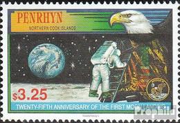 Penrhyn 564 (kompl.Ausg.) Postfrisch 1994 Erste Bemannte Mondlandung - Penrhyn