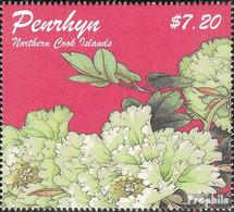 Penrhyn 637 (kompl.Ausg.) Postfrisch 2011 Pfingstrosen - Penrhyn