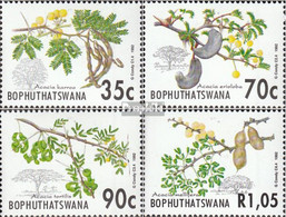 Bophuthatswana 281-284 (kompl.Ausg.) Postfrisch 1992 Akazien - Südafrika (...-1961)