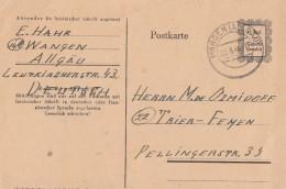 Fr. Zone Ganzsache Minr. P 836 Wangen 20.8.46 - Französische Zone