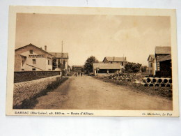 DARSAC. ROUTE D'ALLEGRE - France