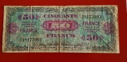 BANQUE DE FRANCE CINQUANTE FRANCS  Série 1944 Voir Les 2 Photos - Zonder Classificatie
