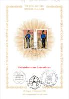 """DDR Philatelistisches Gedenkblatt A5 """"Die DDR Auf Der Stockholmia 86"""" SSt 1085 BERLIN ZPF 28.8.86 - Covers & Documents"""