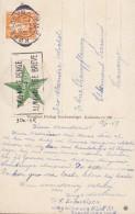 Denmark PPC København Marmorkirken Slogan Flamme KØBENHAVN 1947 Written In ESPERANTO & Vignette Label (2 Scans) - Esperanto