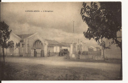 4643. CPA MAROC MOROCCO. CASABLANCA. L'AVIATION - Casablanca