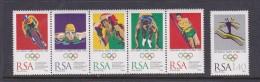 1996 Atlanta South Africa Olympic Set MNH - Summer 1996: Atlanta