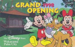 Télécarte Japon / 110-201125 - DISNEY STORE GO - MICKEY MINNIE DAISY - Japan Phonecard Telefonkarte / 3000 EX - Disney