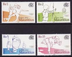 Mauritius #902-5 Mint F-VF NH ** 2000 Summer Olympics - Summer 2000: Sydney