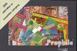 UNO - Wien 2000 Postfrisch Kompletter Jahrgang In Sauberer Erhaltung - Wien - Internationales Zentrum