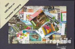 UNO - Wien 2001 Postfrisch Kompletter Jahrgang In Sauberer Erhaltung - Wien - Internationales Zentrum