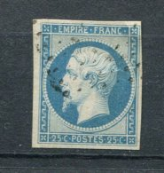 France Ob. N° 15 -  ( Un Point Clair) Sinon TB - 1852 Louis-Napoleon