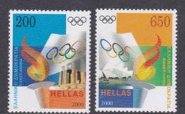2000 Sydney Greece Olympic Games MNH - Ete 2000: Sydney