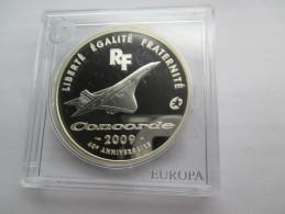 France, 10 Euro, 2009 Concorde 40th Anniversary. - Frankrijk