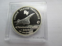 France, 10 Euro, 2009 Concorde 40th Anniversary. - France