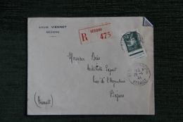 Enveloppe Timbrée Publicitaire - BEZIERS, Louis VIENNET. - Lettres & Documents