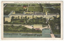 Aeroplane View Of Royal Poinciana Hotel, Palm Beach, Fla. - Palm Beach