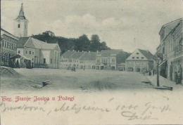 Postcard RA008028 - Croatia (Hrvatska) Slavonska Pozega (Poschegg / Pozsega) - Kroatien