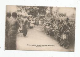 Cp , ETHIOPIE , Mission Du SHIRE Des Pères MONTFORTAINS , Danses Guerrières , Folklore ,Afrique , écrite , Ed : Talnon - Ethiopie