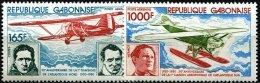 GABON Avions, Avion, Aviateurs, Plane. Yvert PA 232/3. ** MNH. - Avions