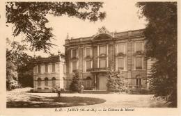 CPA-1936-54-JARNY-LE CHATEAU De MONCEL-TBE - Jarny