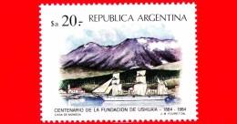 Nuovo - MNH - ARGENTINA - 1984 - 100 Anni Della Fondazione Di Ushuaia - Corbeta 'Paraná' - 20 - Gebruikt