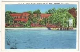 Cove Hotel, Right On The Bay, Panama City, Fla. - Panama City