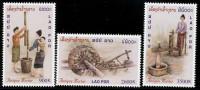 LAOS - 2001 - Mi 1794-1796 - ANTIQUE MORTAR - MNH ** - Laos