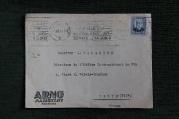 Enveloppe Timbrée Publicitaire - BARCELONA, ARNO MARISTANY - Colecciones