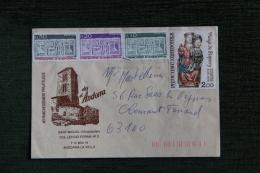 Enveloppe Timbrée Publicitaire - SANT MIQUEL D'ENGOLASTERS - Cartas
