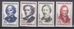 N° 1146 à 1149 Grands Savants: : Timbres Neuf Sans Charnière Impéccable - Unused Stamps
